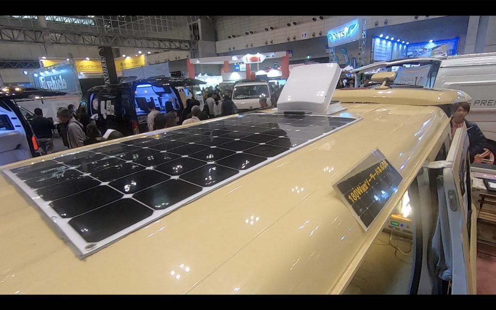 リゾートデュオルクシオにはソーラーパネルもつけられます