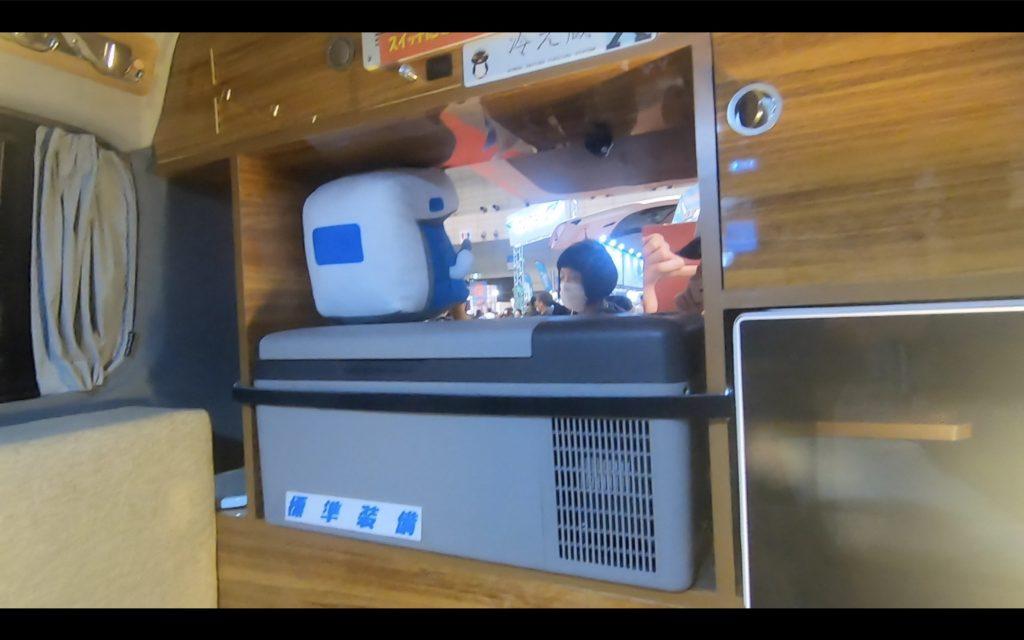 リゾートデュオルクシオは冷蔵庫も標準装備