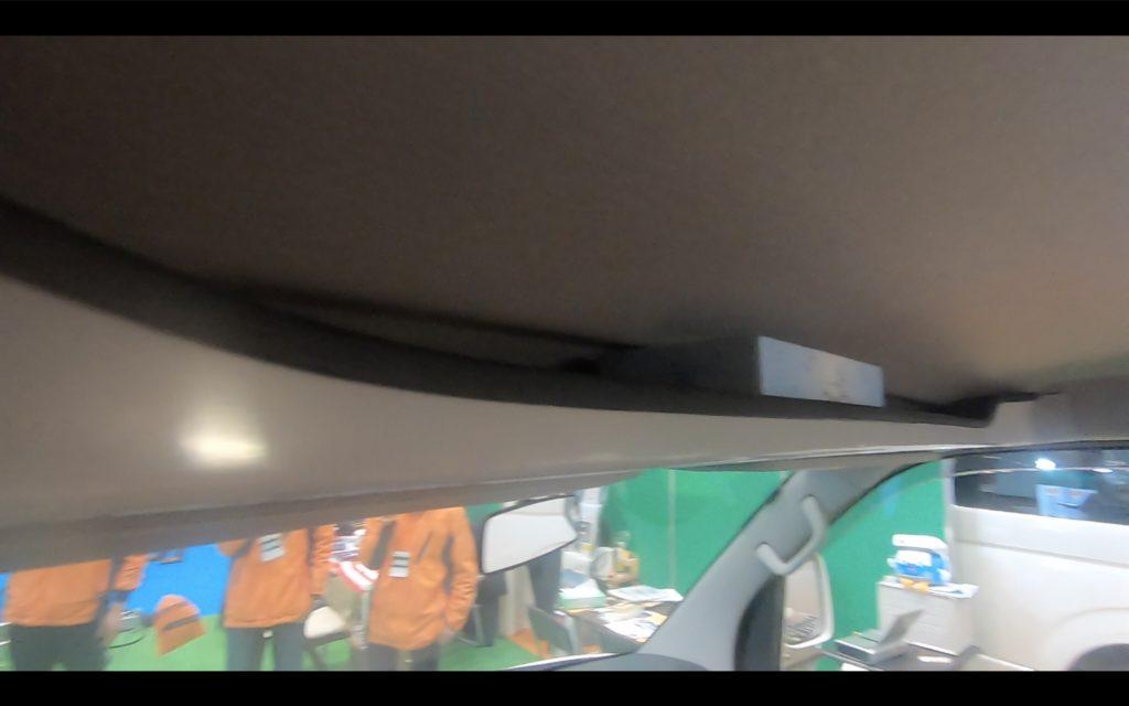 フロットモビール社製シュピーレンの運転席上部
