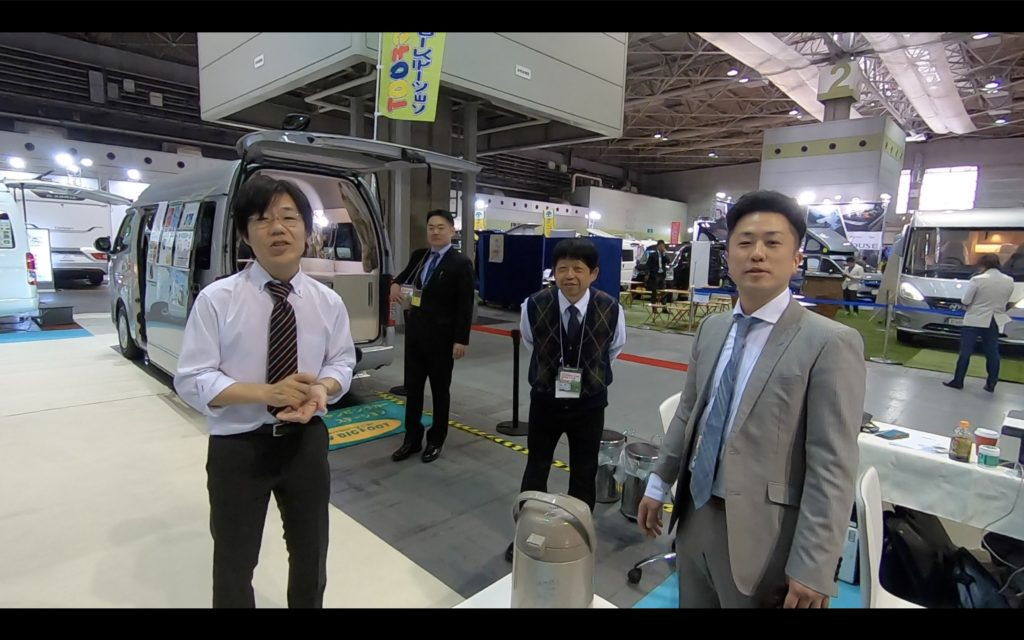 大阪キャンピングカーショー2019の様子