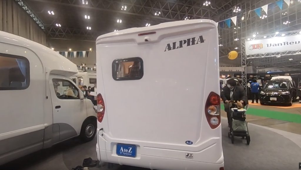 AtoZ社製ALPHA(アルファ)の外観