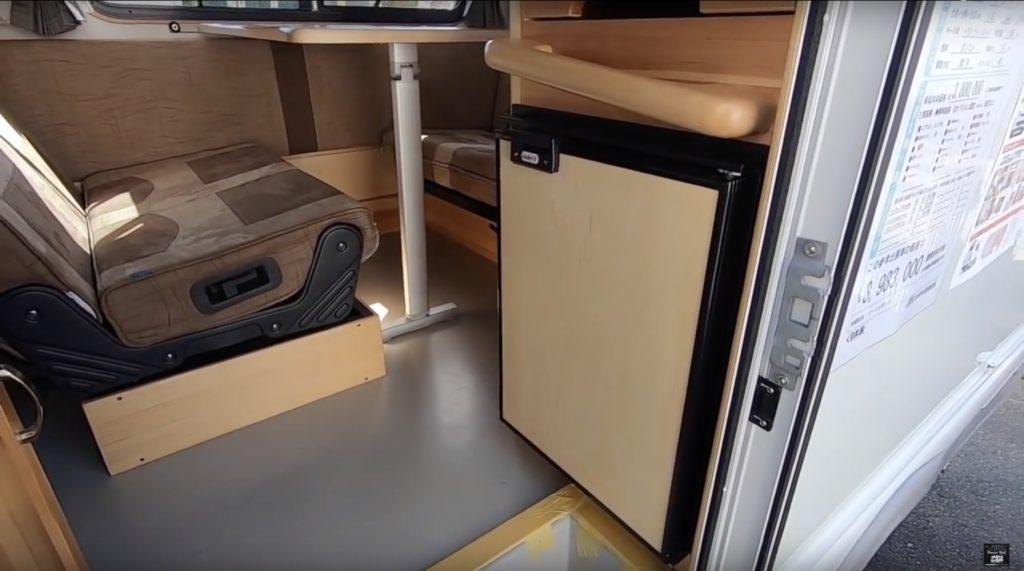 AtoZ(エートゥーゼット)社の「ALEN TYPE1(アレン タイプ1)」の冷蔵庫