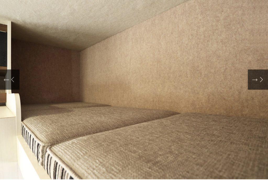 Camper Assist(キャンパーアシスト)社の「JOCT(ジョクト)」の常設2段ベッド