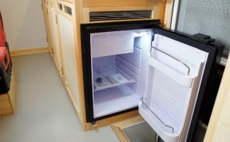 アミティLXの冷蔵庫