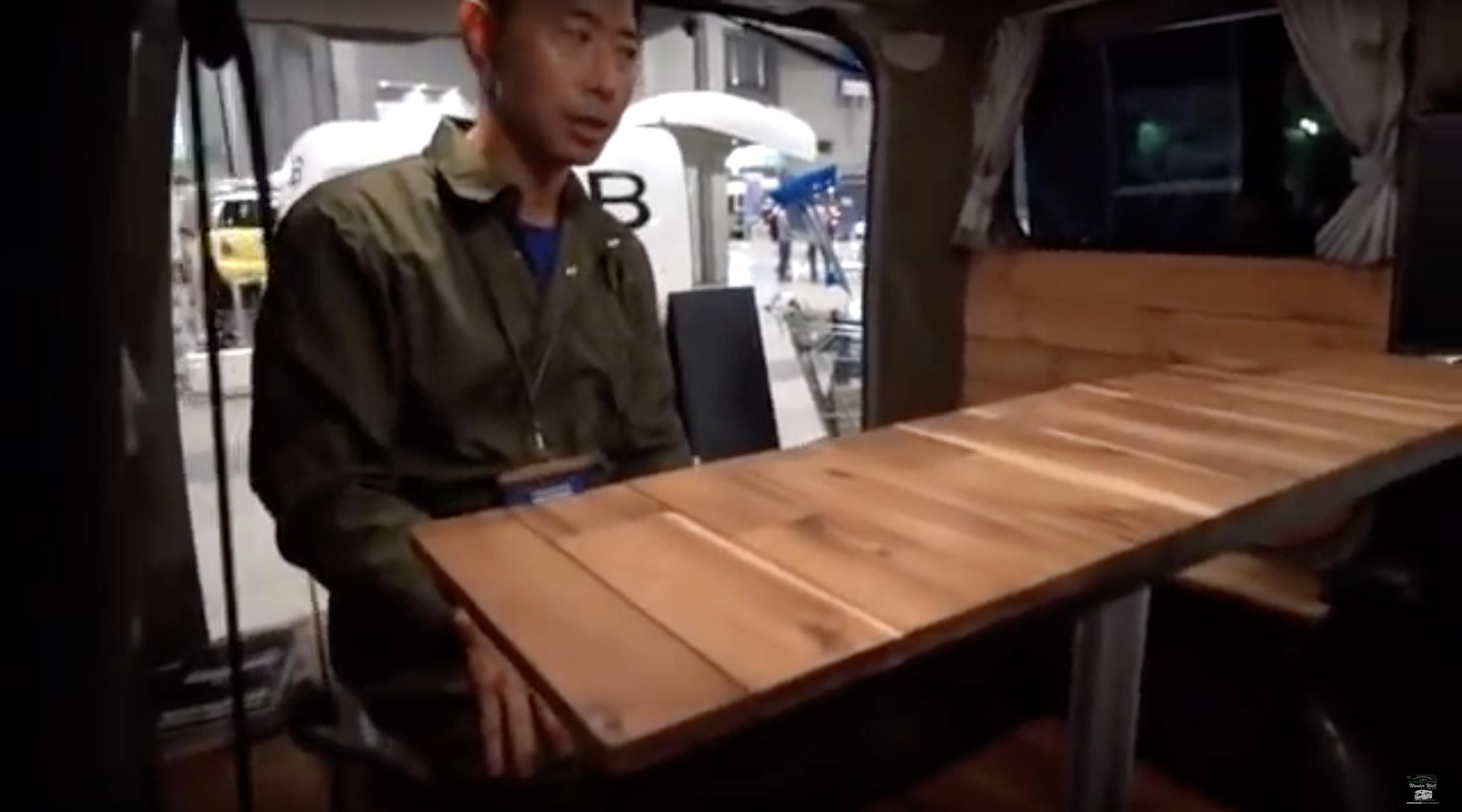 テーブルもセット